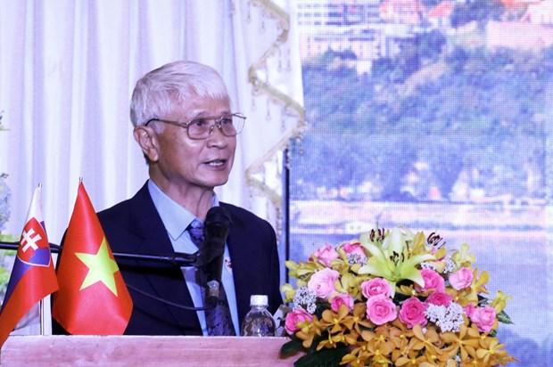 胡志明市和斯洛伐克增进民间交流与合作 hinh anh 1