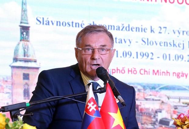 胡志明市和斯洛伐克增进民间交流与合作 hinh anh 2