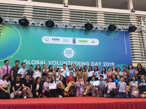 2019年国际志愿者日:面向可持续发展目标 hinh anh 1
