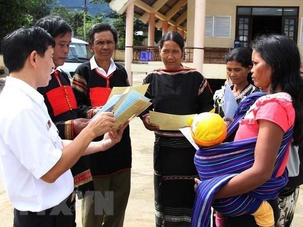 越南将于10月1日起对全国53个少数民族经济社会发展状况展开调查 hinh anh 2