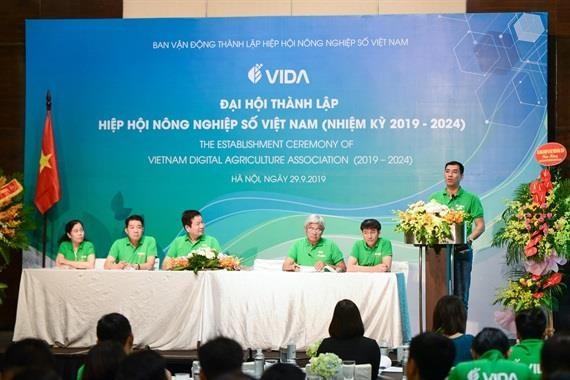 越南数字农业协会正式成立 助力农民和企业靠农业致富 hinh anh 1