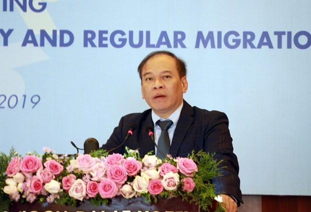 越南积极参加并认真履行《安全、有序和正常的移民全球契约》义务 hinh anh 1