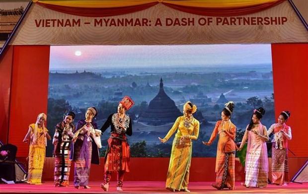 越南在缅甸举行文化周 hinh anh 1