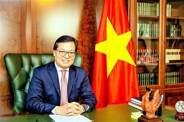 杨志勇大使:国际社会高度评价越南WIPO成员国大会主席的协调作用 hinh anh 2