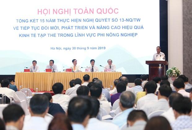 王廷惠副总理:非农集体经济取得长足进展 hinh anh 2