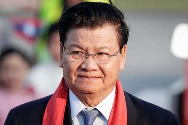 老挝总理开始对越南进行正式访问 hinh anh 1