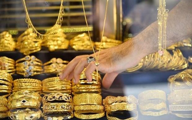 10月1日越南国内黄金价格下降25万越盾 hinh anh 1
