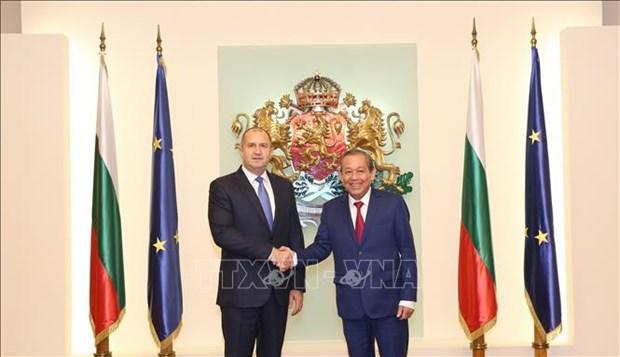保加利亚总统:越南是保加利亚重要的东南亚伙伴 hinh anh 1