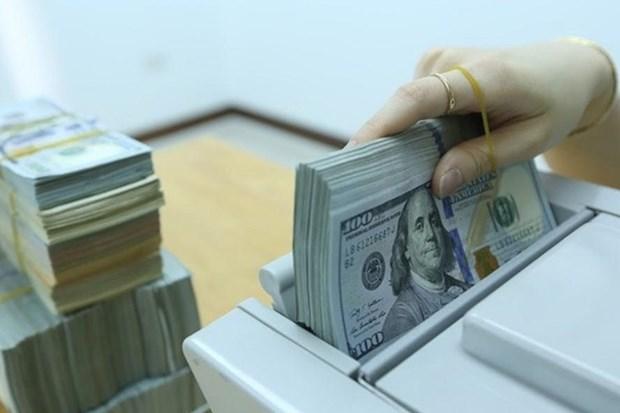 10月1日越盾对美元汇率中间价上调4越盾 hinh anh 1