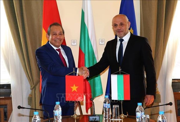 越南与保加利亚加强传统友好关系 hinh anh 1