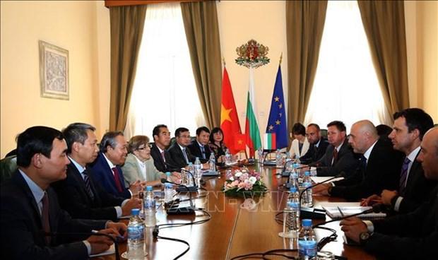 越南与保加利亚加强传统友好关系 hinh anh 2