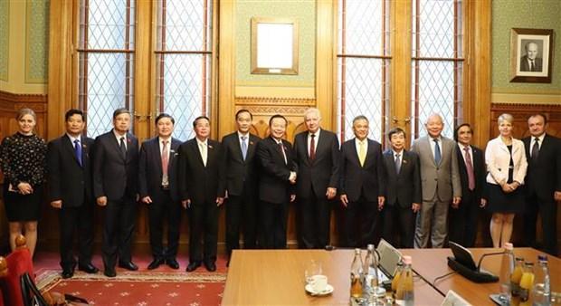 越南国会副主席冯国显对匈牙利进行工作访问 hinh anh 1