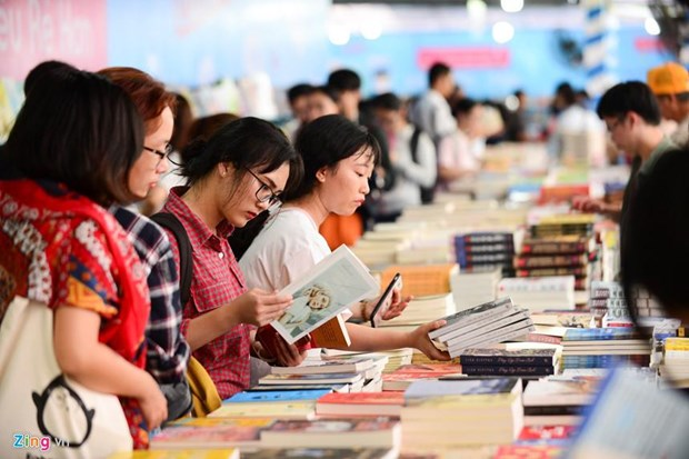 举办河内图书节有助于促进阅读文化发展 hinh anh 1