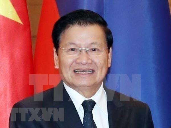 老挝政府总理通伦·西苏里走访岘港市 hinh anh 1