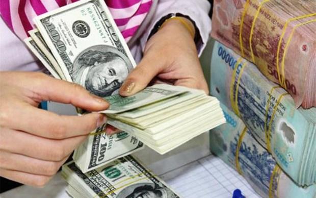 10月2日越盾对美元汇率中间价下调2越盾 hinh anh 1