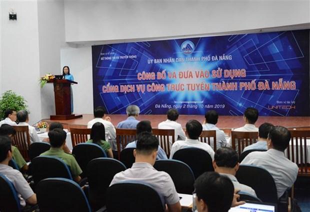 岘港市在线公共服务平台正式投入使用 hinh anh 2