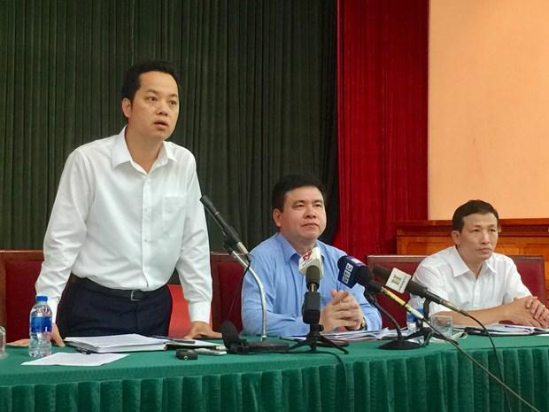河内市委召开例行记者会聚焦改善空气质量问题 hinh anh 1
