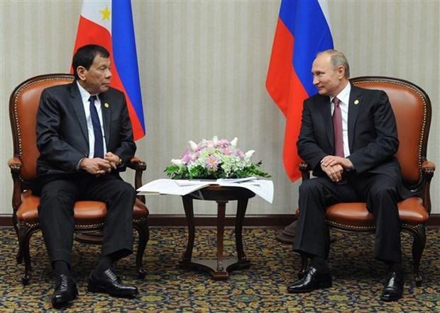 菲律宾加强与俄罗斯的国防安全合作 hinh anh 1