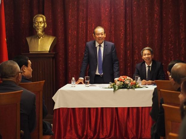旅居保加利亚越南人建议成立越南佛教中心 hinh anh 1