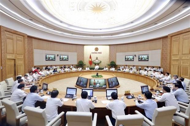 政府总理阮春福:努力全面完成或超额完成2019年计划 hinh anh 1