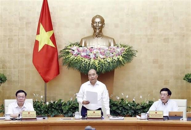 政府总理阮春福:努力全面完成或超额完成2019年计划 hinh anh 2