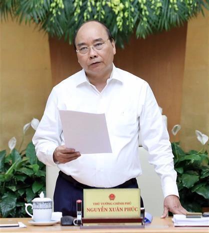 阮春福总理:加大改革力度 促进生产经营发展 hinh anh 1
