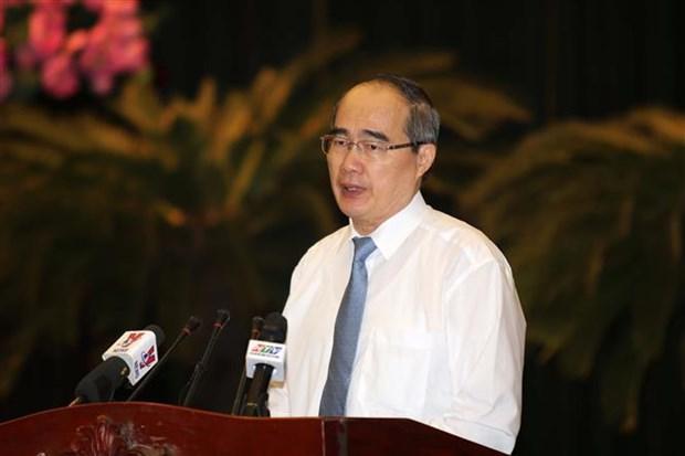 胡志明市加快完成各项经济社会和文化指标任务 hinh anh 2