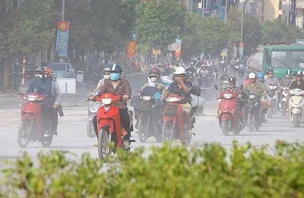 河内空气重度污染 环境总局提醒市民减少外出 hinh anh 1