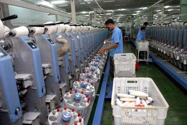 加工制造业助力越南经济快速发展 hinh anh 1