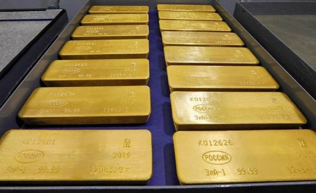 10月3日越南国内黄金价格上涨30万越盾 hinh anh 1