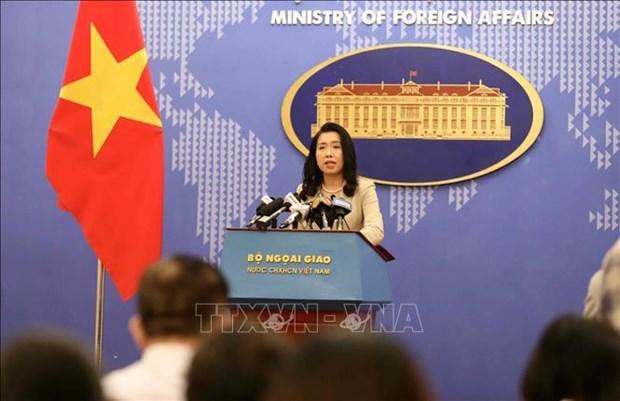 """越南外交部发言人:中国没有任何国际法律依据对所谓""""万安滩""""提出主权声索 hinh anh 1"""