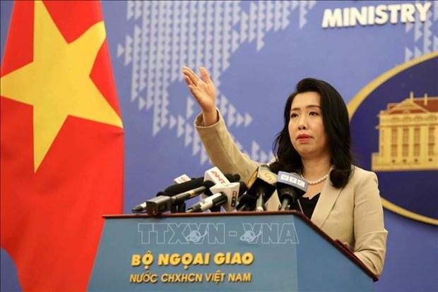 全球金融诚信组织发布有关越南的报告不属实 hinh anh 1
