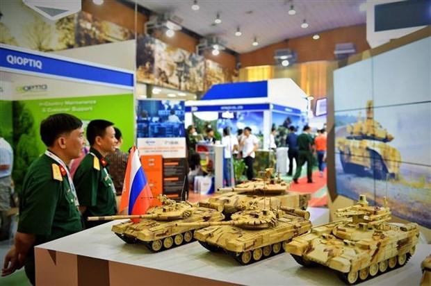 2019越南国际专业防务与军警展开展 hinh anh 2
