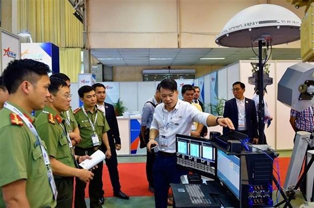 2019越南国际专业防务与军警展开展 hinh anh 1