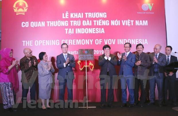 《越南之声》在印尼开设常驻机构 hinh anh 1