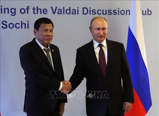 俄罗斯与菲律宾将扩大双边合作关系 hinh anh 1