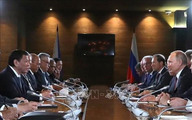 俄罗斯与菲律宾将扩大双边合作关系 hinh anh 2