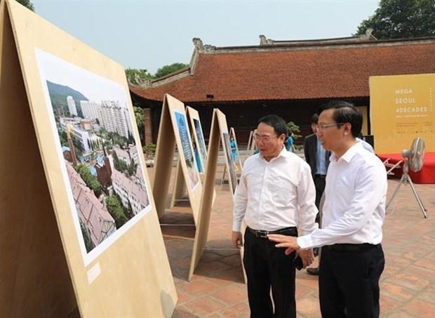 关于韩国首都首尔的图片展在河内举行 hinh anh 2
