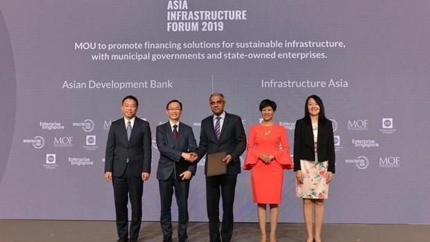 新加坡亚洲基础设施办公室促进地区基础设施发展 hinh anh 1