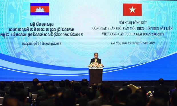 越柬两国边境划界工作中的重要进展 hinh anh 1