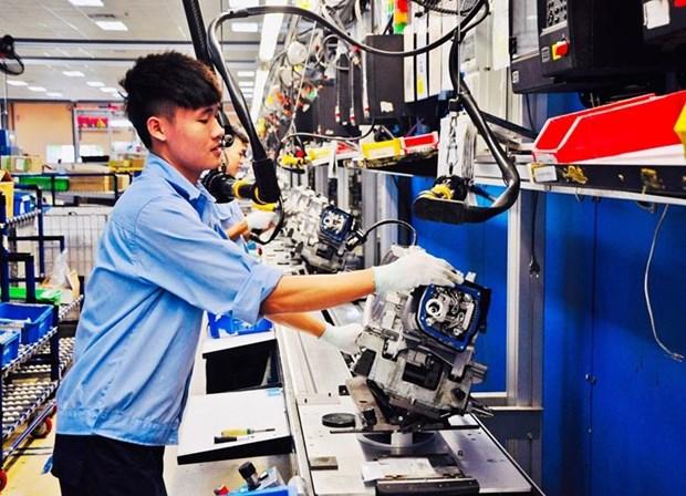 永福省汽车、摩托车整车组装企业为1200名劳动者创造就业机会 hinh anh 1