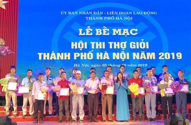 庆祝首都河内解放65周年的活动热闹举行 hinh anh 3
