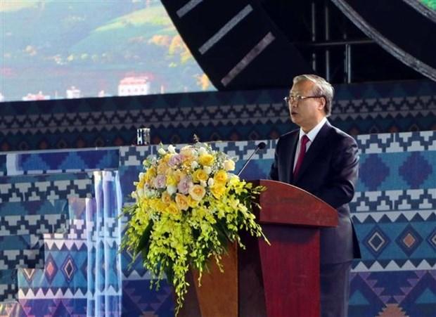陈国旺出席莱州省建省110周年庆典 hinh anh 2