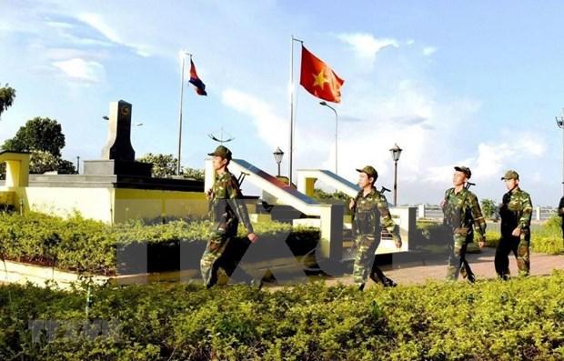 致力于越柬和平、合作与发展的友好边界线 hinh anh 3