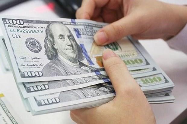 10月7日越盾对美元汇率中间价下调4越盾 hinh anh 1