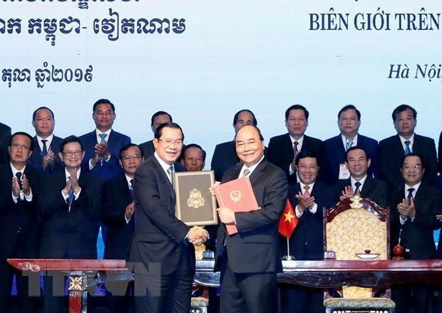 柬埔寨媒体高度评价柬埔寨首相洪森访越的成果 hinh anh 1