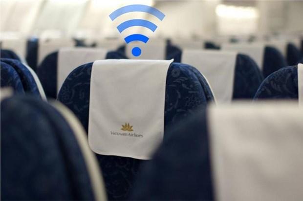越航率先推出机上WiFi服务 hinh anh 1