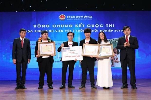 """""""利用3D技术制造产品""""项目获得2019年学生和大学生创业比赛 hinh anh 1"""