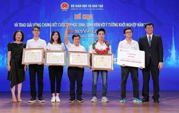 """""""利用3D技术制造产品""""项目获得2019年学生和大学生创业比赛 hinh anh 2"""
