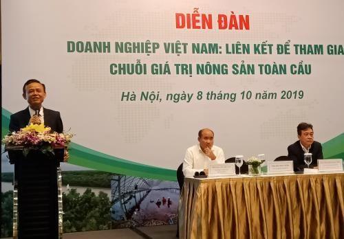 越南鼓励企业参与全球农产品价值链 hinh anh 1